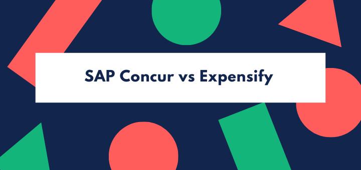 SAP Concur vs Expensify